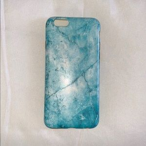 Accessories - Blue marble iPhone case